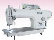 Швейное оборудование - прямострочная машина с зеркальной платформой.