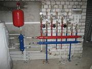 Отопление дома газовое,  электрическое.Монтаж отпления,  водоснабжения.
