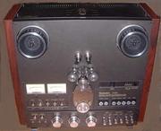 Старая качественная японская аудио аппаратура.