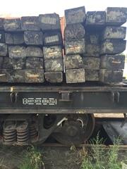 Деревянные бу шпалы 1 и 2 типа