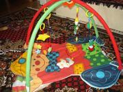 Продам коврик развивающий, 4 подвесные игрушки